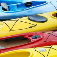 Kayak lessons at Welton Waters Adventure Centre